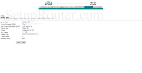 Router Wifi Cisco Dpc2320 setup wifi on the cisco dpc2320