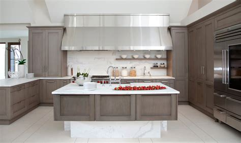 Grey Wash Kitchen Cabinets Gray In The Kitchen Home Design And Decorating Ideas