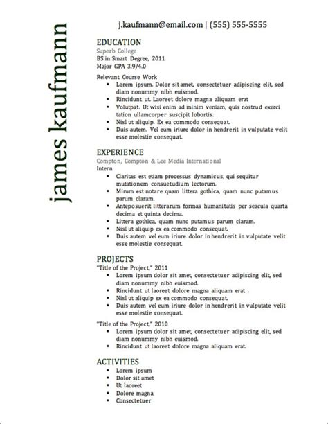 Most Popular Resume Templates by Most Popular Resume Templates Tomyumtumweb