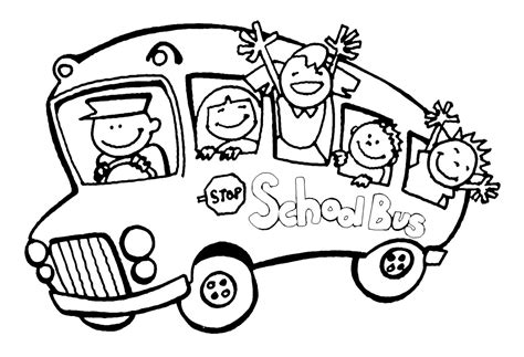 printable coloring pages school bus imbullyfree org