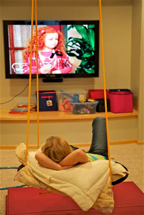 basement swing holly s arts and crafts corner diy project basement