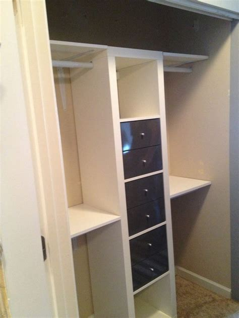 ikea bookshelf closet hack ikea expedit for closets interiors closet config