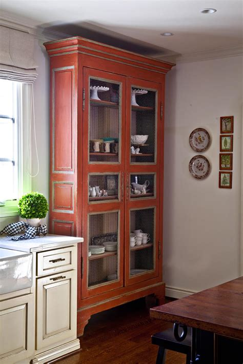 standing cabinets for kitchen add majesty to your room with a wood cabinet nell hills