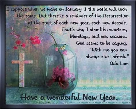 christian  year messages  quotes   year