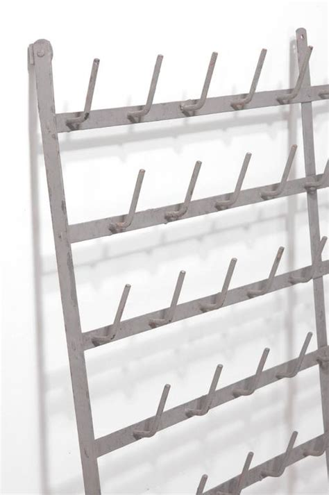 Wall Mounted Drying Racks by Wall Mounted Wine Bottle Drying Rack For Sale At 1stdibs
