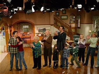 everybody loves raymond peter on the couch in focus half hour homes living rooms of american