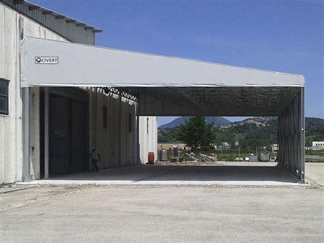 tettoie mobili coperture pvc monoside tettoie e coperture pvc