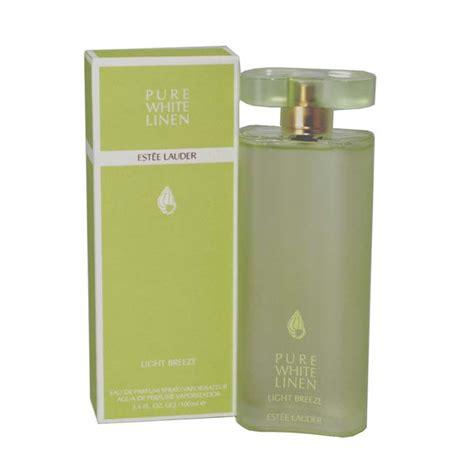 pure white linen light breeze eau de parfum spray pure white linen light breeze by estee lauder 1 7 oz edp