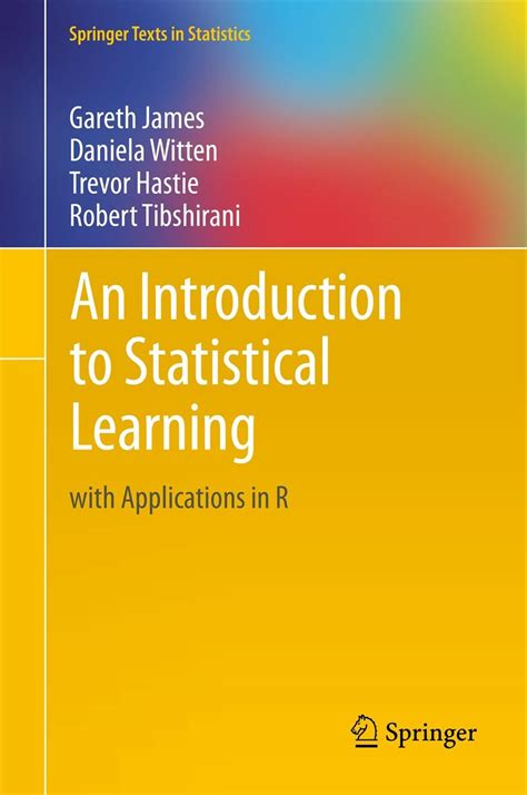 learning with r books introduction to statistical learning