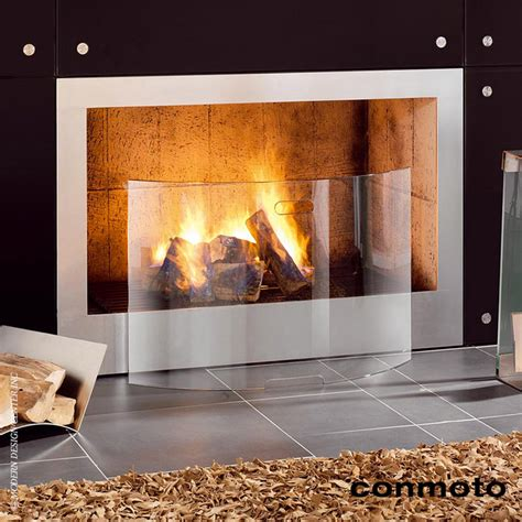 fireplace screens modern conmoto mentas fireplace screen modern guards