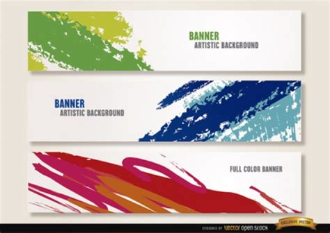 header design pictures coloful headers for web design vector free download
