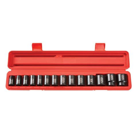 socket set organizer home depot tekton 1 2 in drive 3 8 1 1 4 in 6 point shallow