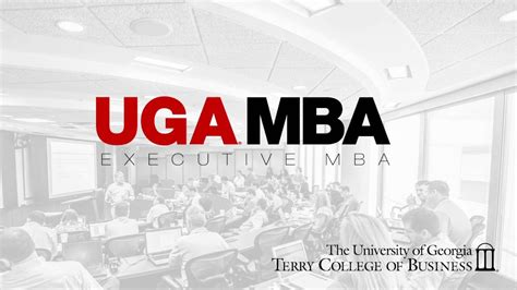 Mba Ga by Of Executive Mba Terry College Of