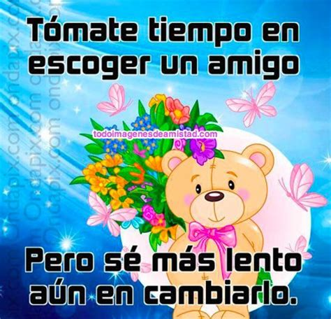 imagenes bonitas para dia amistad fraces de amistad on pinterest frases google and