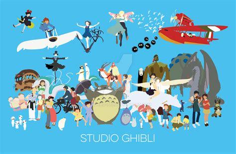 studio ghibli tribute to studio ghibli by byakko 777 on deviantart