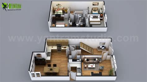home plan ideas modern small house design with floor plan ideas by yantram architectural rendering studio san