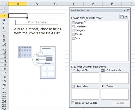null layout exle how to analyze data using excel pivottables pcworld