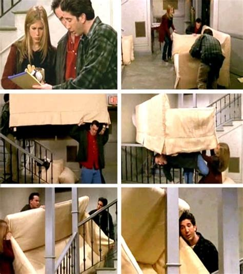 friends couch pivot pin by anthony falcone on friends pinterest