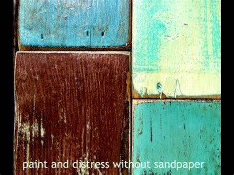 A Diy How To Paint Distress Wood Furniture
