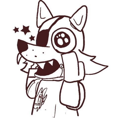 fnaf coloring pages foxy five nights at freddy s coloring pages cool google