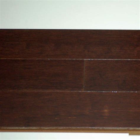 3 4 Inch Hardwood Flooring by Goodfellow Bamboo Espresso 12mm Thick X 3 3 4 Inch W