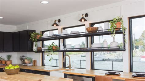 fixer upper house boat see the incredible houseboat makeover featured on last