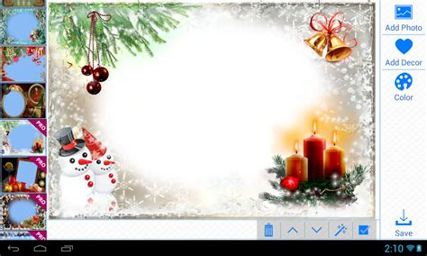 christmas photo frames apk  photography android app