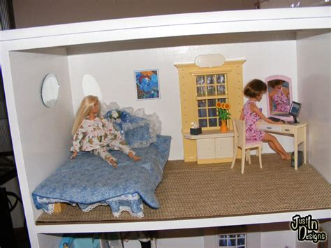 how to make a barbie doll bedroom building a barbie doll house with a recycled dresser from