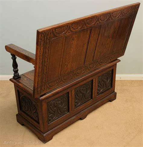 antique monks bench antique oak monks bench settle antiques atlas