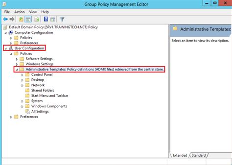 administrative templates installing admx administrative templates on windows server