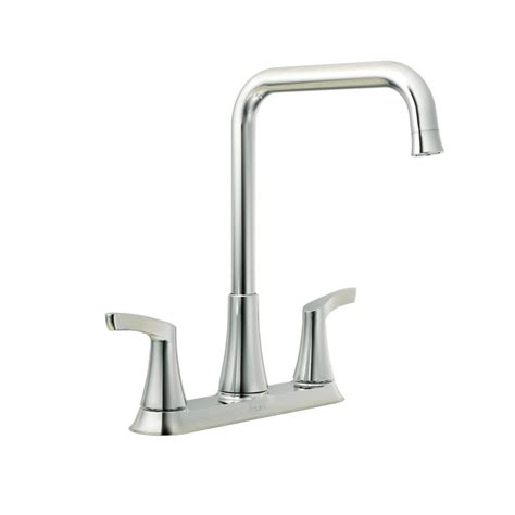 moen kitchen faucet home depot moen danika 2 handle kitchen faucet chrome finish the home depot canada