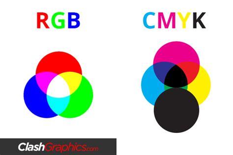 color profile rgb vs cmyk printing color profiles graphics clash