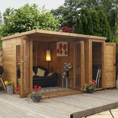 home dzine  garden shed hut  wendy house