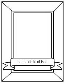 i am child of god crown coloring pages
