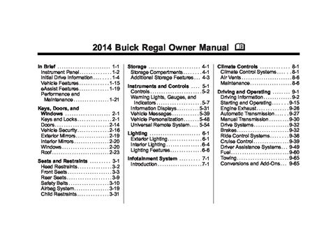 2011 buick regal owners manual 2014 buick regal owners manual just give me the damn manual