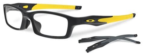 Oakley Crosslink Black Yellow oakley crosslink asian fit ox8029 eyeglasses frames