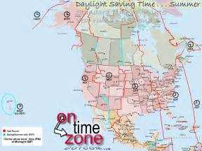 North American Time Zone Map by North America Time Zone Map Printable