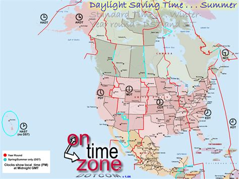 usa time zone with map america time zone map roundtripticket me