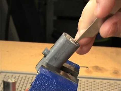 File Cabinet Lock Picked and Bypassed   YouTube
