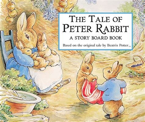 Books Bunny A Model Tale by The Tale Of Rabbit Story Board Book The Bookmark