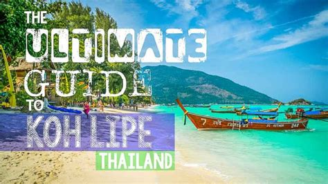 ultimate guide to koh lipe thailand 2018 edition