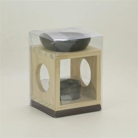 Catalytic Fragrance Ls classic wood aromatherapy burner with ceramic dish