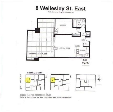 wellesley floor plans floor plans for 8 wellesley st e 8 wellesley st e east
