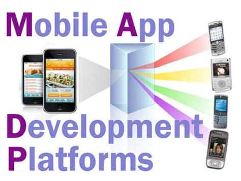 mobile app platform 10 top mobile application development platforms network