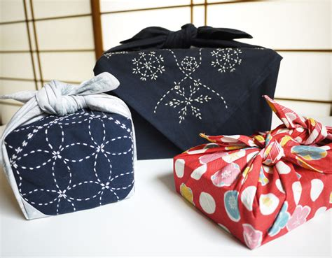 japanese gift ideas handmade gift wrap ideas for the holidays sashiko