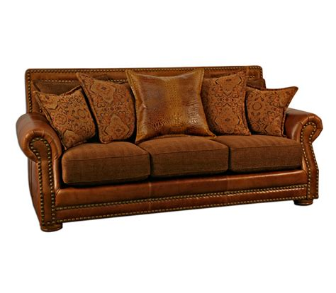 western couches western sofas western leather sofas
