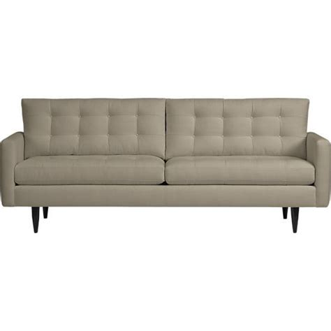 crate barrel petrie sofa 14 best images about modern couch sofa on pinterest