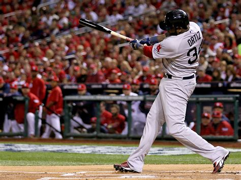 david ortiz swing red sox lead series 3 2 but 733 is the stunning number
