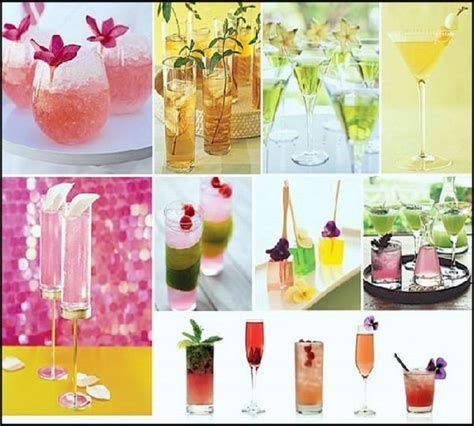 traditional wedding cocktails for your reception wedding