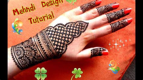 apply easy simple henna mehndi designs  hands tutorial  eiddiwaliweddings